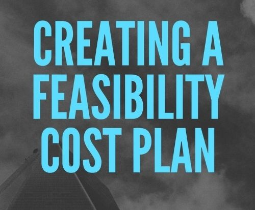 Creating a feasibility cost plan landscape